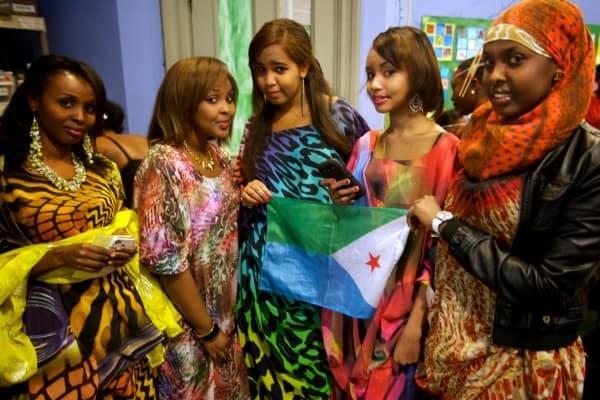 Belles filles djiboutiennes