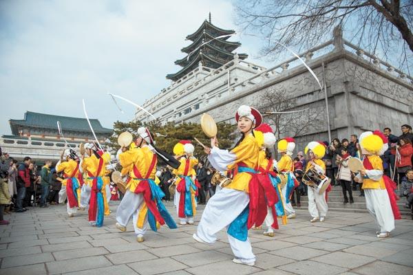 Seollal Festival in South Korea