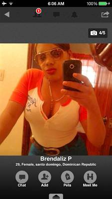 Santo Domingo Girl from Dominican Republic
