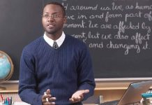 Black English Teacher