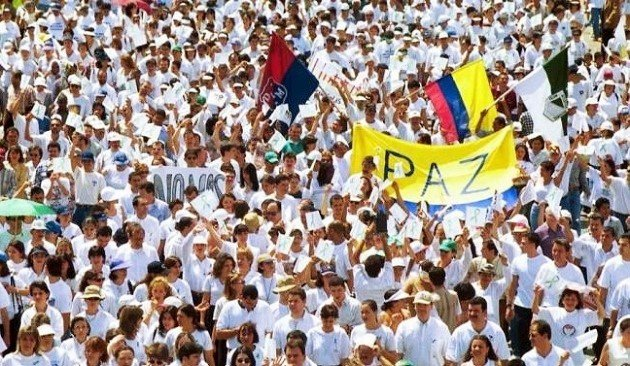 Colombian March for Peace