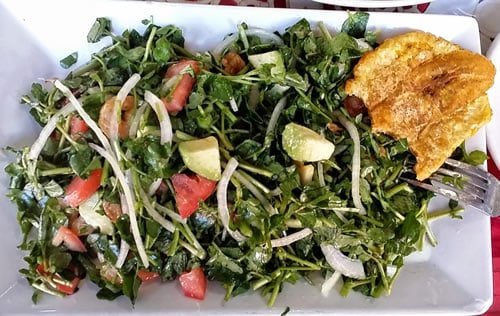 Watercress Salad in Colombia