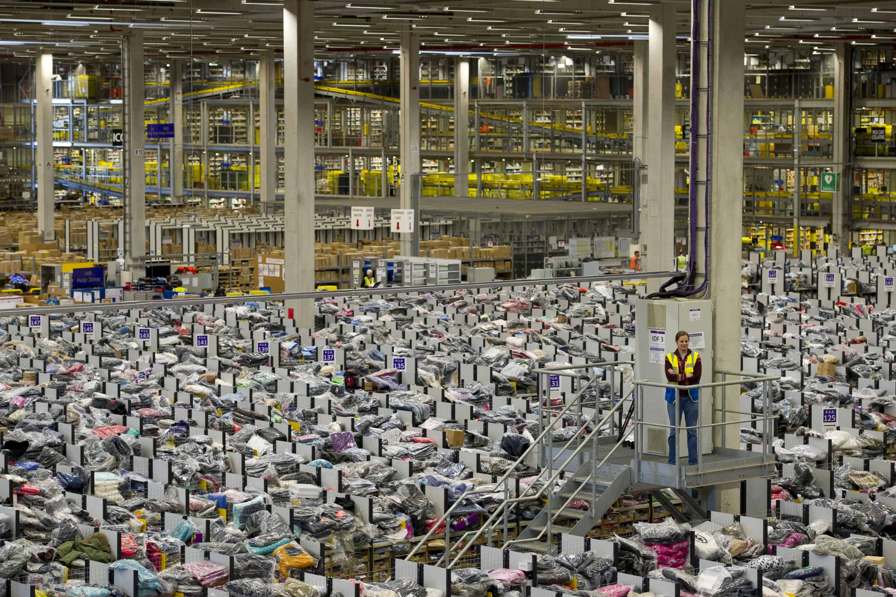 Amazon Warehouse Manic Monday