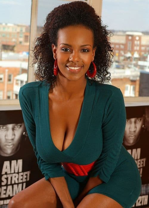 Meet beautiful black woman