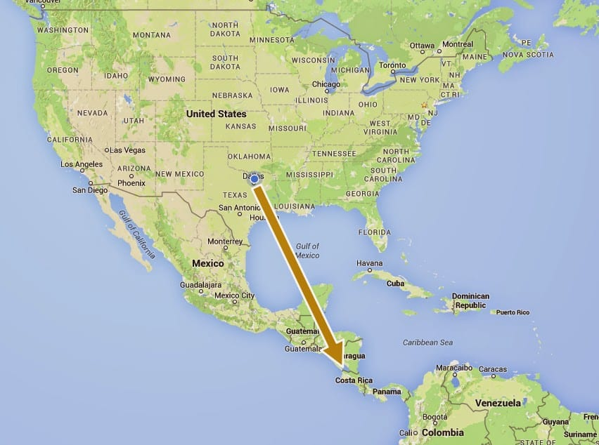 Reasons Why Black Men Should Visit Costa Rica - Us map of costa rica