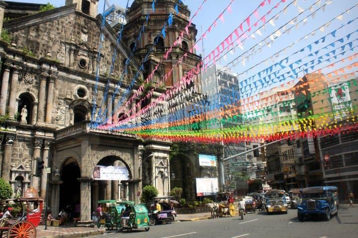 Downtown Manila