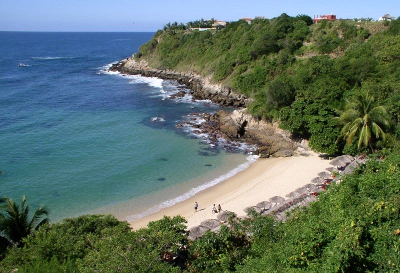 Playa Carrizalillo, Puerto Escondido, Oaxaca