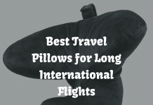 Best Travel Pillows for Long International Flights