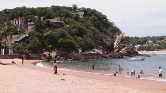 Playa Panteon, Puerto Angel, Oaxaca
