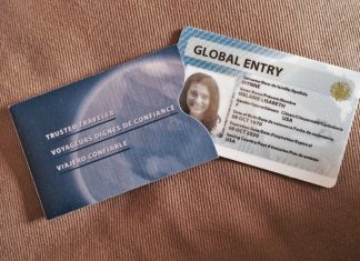 US Global Entry Card