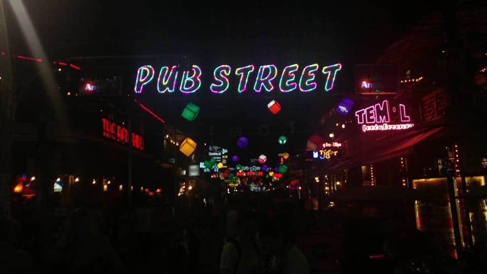 Pub Street Cambodia