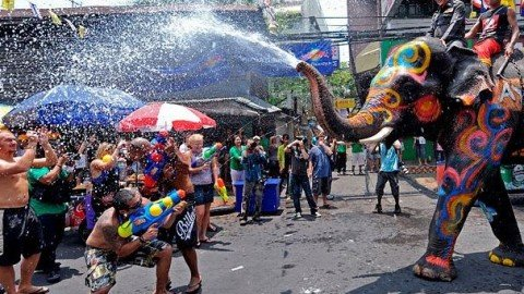 Songkran Festival Pattaya 2018: What to Expect