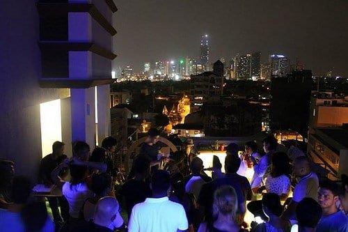 Manila Z Hostel Rooftop