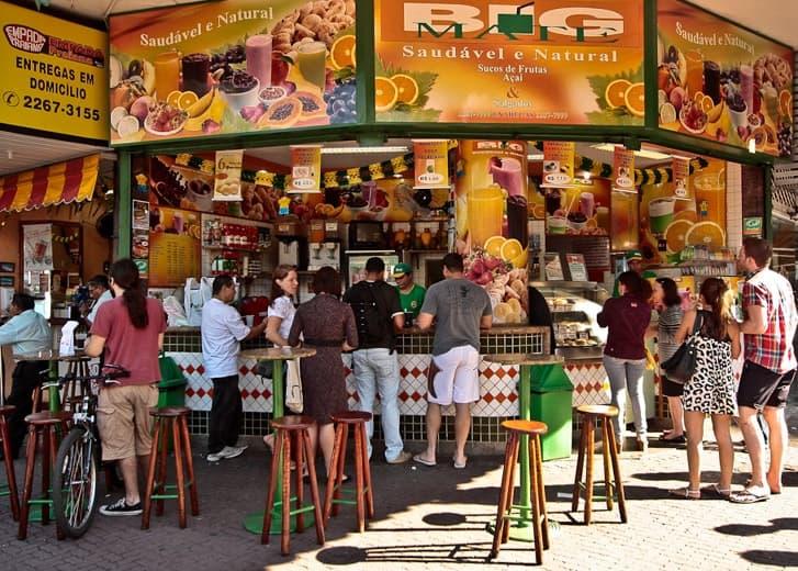Ipanema Juice Bar, Rio de Janeiro, Brazil