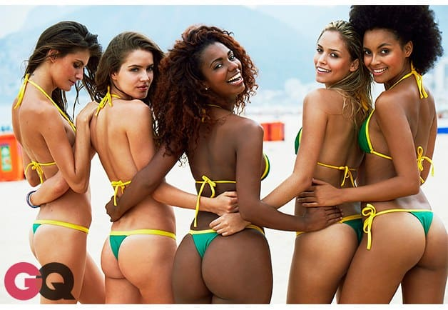 Beautiful Women In Rio