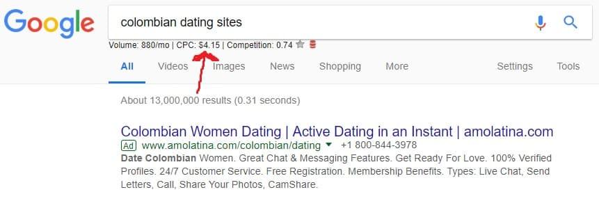 Amolatina Google Ads