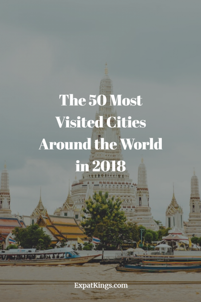 The 50 Most Visited Cities Around the World