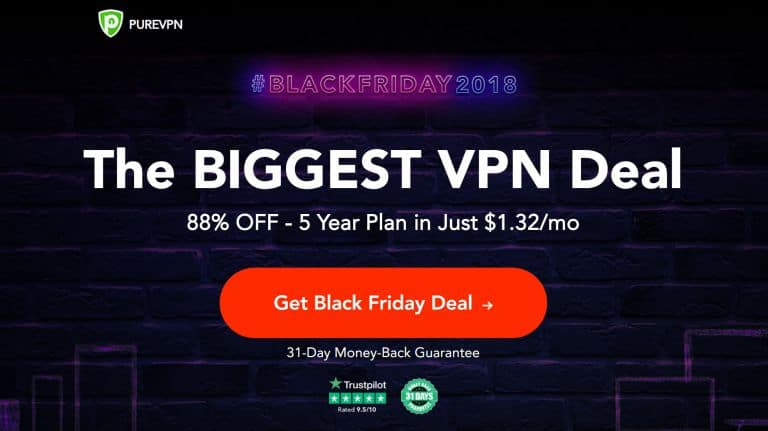 PureVPN Black Friday Deal 2018