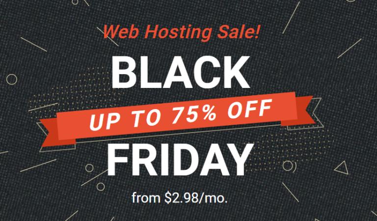 Siteground Black Friday Deal 2018: 75% Off Shared Web Hosting!