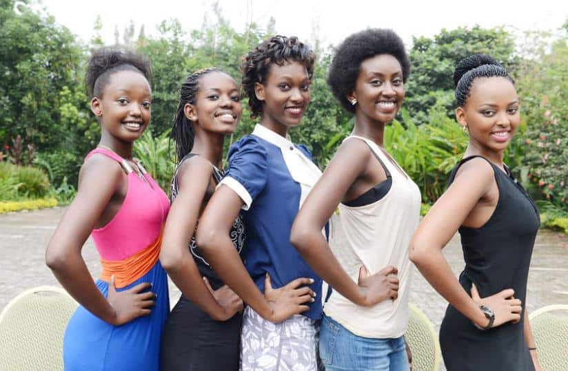 Beautiful Rwanda Girls