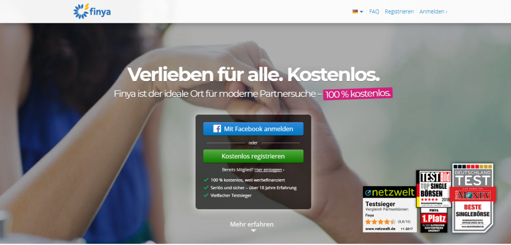Finya.de German Dating Site & App