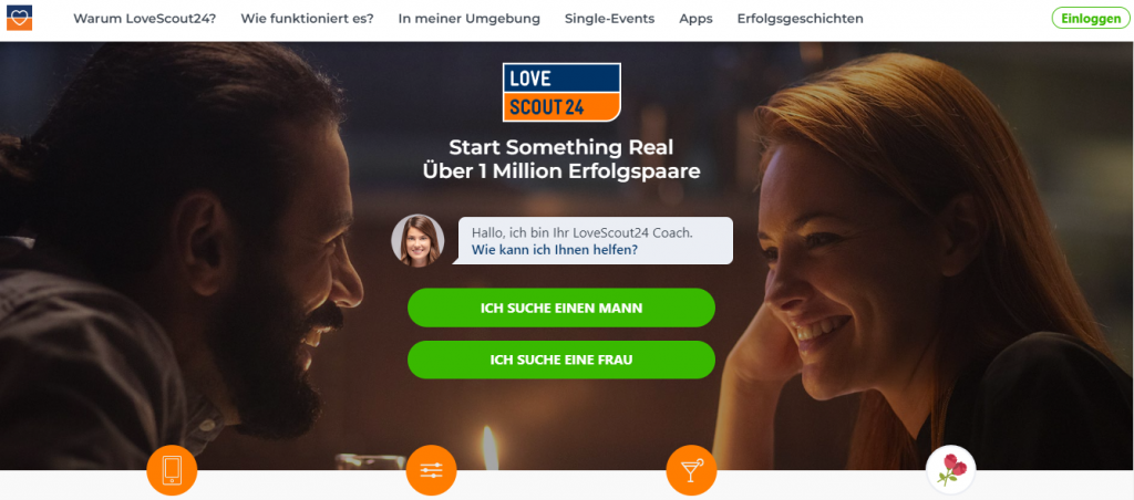Lovescount24.de German dating site and app