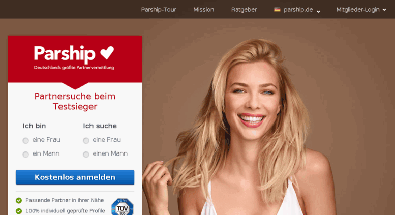 Parship.de German Dating Site & App