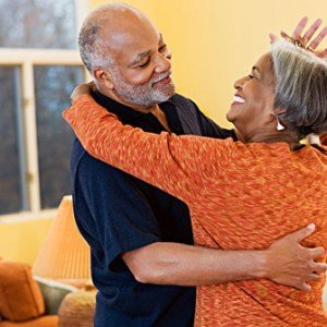 Black Senior Couple