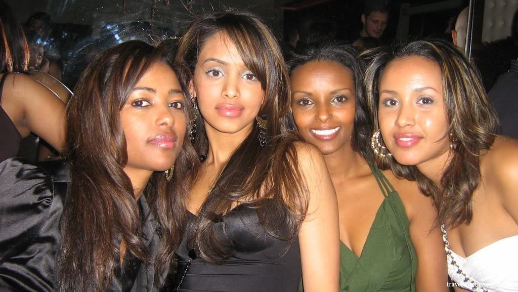 Ethiopian Girls in Addis Ababa