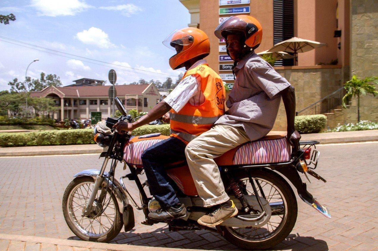 Kampala Motorbike Driver